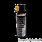 Pojemnik z gazem 78mm/18g/30ml - źolty pierścień