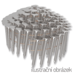 Gwoździe papowe łączone drutem 3,05 x 32 mm,  pierścieniowe, ocynk ogniowy