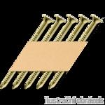 Gw. w taśmie papierowej 34° 40 x 60 pierścieniowe ANKER ocynk