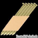 Gw. w taśmie papierowej 34° D-glówka 34 x 100 gladkie ocynk