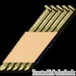 Gw. na taśmie papierowej 34° D-glówka 28 x 50 pierścieniowe ocynk - opak 3000stz