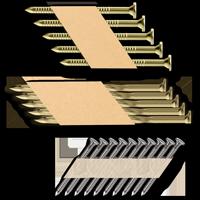 Gwoździe łączone papierem 34°