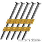 Gwoździe w plastiku 20° 28 x 50 pierścieniowe