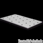 Lacznik plaski perforowany 80x80x  2,0