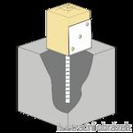 Lacznik belki do betonu Typ L 80x80x4,0