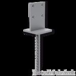 Lacznik belki do betonu Typ T 100x100x4,0
