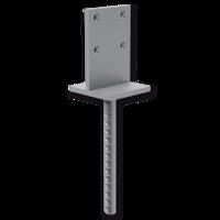 Łącznik belki do betonu typ T