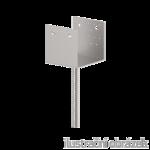 Lacznik belki do betonu Typ U 140x100x4,0