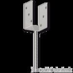 Lacznik belki do betonu Typ U 100x60x4,0