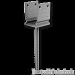 Lacznik belki do betonu przetlaczany Typ U 120x100x4,0