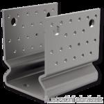 Lacznik belki do betonu przetlaczany Typ U 100x80x4,0