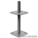 Wspornik slupa 110x110x250x4,0 M24