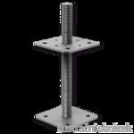 Wspornik Slupa 110x110x330x4,0 M24 regulowany