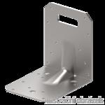 Katownik 90° Typ 4 przetlaczany wzmocniony 90x105x105x3,0 rowek