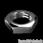 Nakrętka sześciokątna niska DIN 439 B M20, kl.4, ocynk galwaniczny