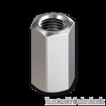 Nakrętka sześciokątna wysoka DIN6334 M12x36, kl.6, ocynk galwaniczny