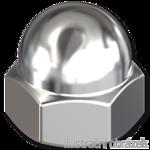 Nakrętki kołpakowe DIN 1587 M10, kl.6, ocynk galwaniczny