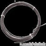 drut do podwiaz. sr. 2.5,czarny,krezki po 5 kg