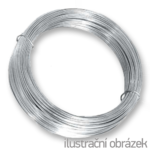 Vazací drát 2,8 mm pozinkovaný, měkký, žíhaný - svitky 5 kg