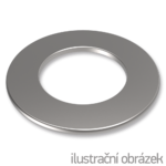 Podkładka okrągła płaska DIN125 M6, ocynk galwaniczny