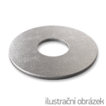 Podkładka powiększona DIN 9021, M4, ocynk