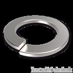 Podkładka sprężysta DIN 127B, M4, ocynk