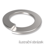 Podkładka sprężysta DIN 127B, M16, ocynk