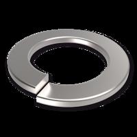 Podkładki sprężyste jednozwojowe DIN 127B