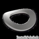 Podkładka falista DIN 137B, M10, ocynk