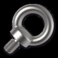 Śruby z uchem DIN 580, ocynk