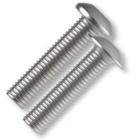 Śruby z łbem kulistym ISO 7380/ISO 7380-2 kl.10.9 z gniazdem