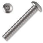 Śruby z łbem kulistym ISO 7380 kl. 10.9 M6x35mm, z gniazdem sześciokątnym, ocynk galwaniczny