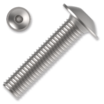 Śruby z łbem kulistym podkładkowym ISO 7380-2 kl. 10.9 M6x40mm, z gniazdem sześciokątnym, ocynk galwaniczny