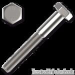 Śruba z łbem sześciokątnym DIN931 M5x30, kl.8.8, ocynk galwaniczny