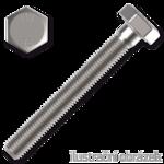 Śruba z łbem sześciokątnym DIN933 M4x10, kl.8.8, ocynk galwaniczny