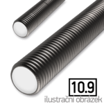 Pręt gwintowany DIN976 M16x1000, kl.10.9, bez powierzchownej obrobki
