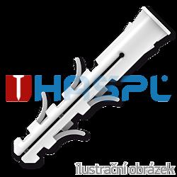 Kołek montaż. UPA-L stan. z kolnierzem 6x30mm - 1