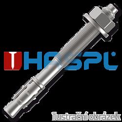 KOTVA STALOWA LSB  M12X300, ocynk bialy - 1