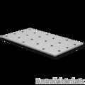 Lacznik plaski perforowany 60x120x2,0 - 1/3