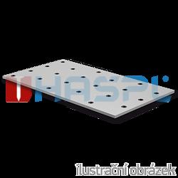 Lacznik plaski perforowany 140x400x2,0 - 1