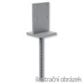 Lacznik belki do betonu Typ T 70x70x4,0 - 1/3