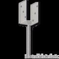 Lacznik belki do betonu Typ U 100x60x4,0 - 1/3