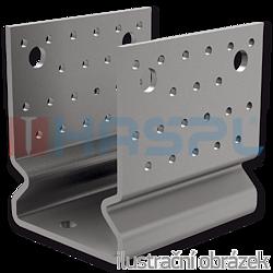 Element kotwiacy przetlaczany Typ U 120x120x4,0 - 1