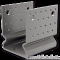 Element kotwiacy przetlaczany Typ U 120x120x4,0 - 1/3