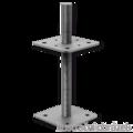 Wspornik Slupa 80x80x330x4,0 M24 regulowany - 1/3