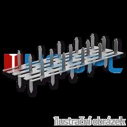 Plytka zebata obustranna 35x84x1,5 - 1