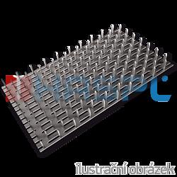 Plytka zebata 24x210x1,0 - 1