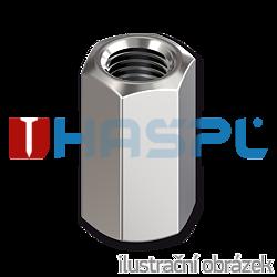 Nakrętka sześciokątna wysoka DIN6334 M14x42, kl.6, ocynk galwaniczny