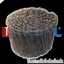 Drut wiązałkowy oczkowy 125 mm - 1000 szt
