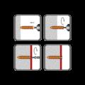 Hmoždinka do polystyrenu HDP 95, 32x95 mm, polyamid - 2/2